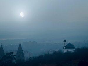 Negatív tér - Pécs, templom
